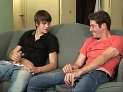 Gay and straight guy