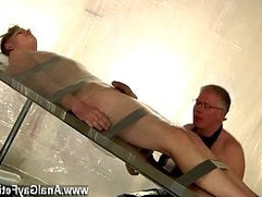 Extreme xxx gay tube Twink Alex has been a highly bad slave, stealing