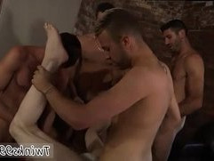 Bi male double anal gay James Gets His Sold Hole Filled!