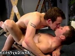 Old gays kissing and fucking movies Aiden gets a lot of punishment in