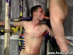 Cute gay guys with boners Feeding Aiden A Inch Cock