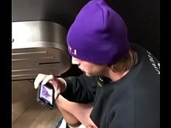 toilet spy man jerking off