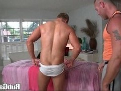Rubgay Wet Amateur Ass Rubbing