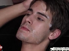 Christmas Bukkake Boys facial compilation