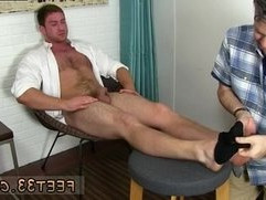 Young gay guys toe sucking first time Connor Gets Off Twice Being