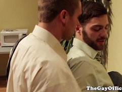 Tommy Defendi office ass fuck each other with guy