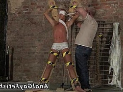Emo gay bondage rough sex Slave Boy Made To Squirt