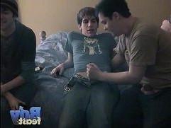 Straight Boy in a Threesome